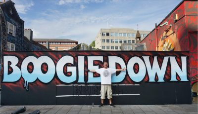 Bristol's Inkie Boogie Down Bristol