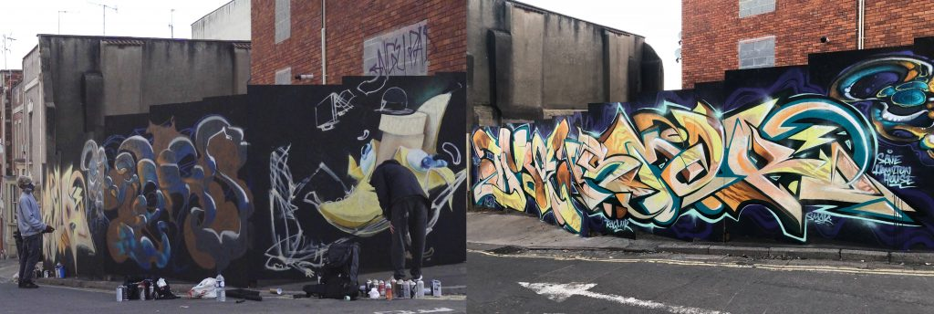 Beautifying Neighbourhoods Through Graffiti Art