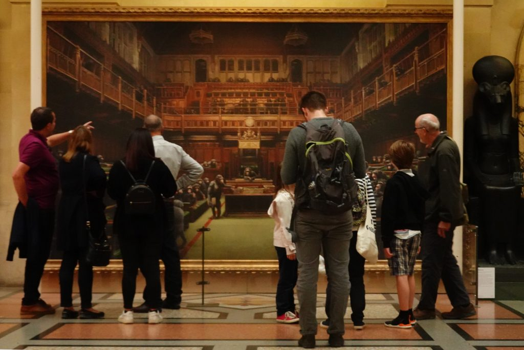 Banksy Devolved Parliament Bristol Museum and Art Gallery