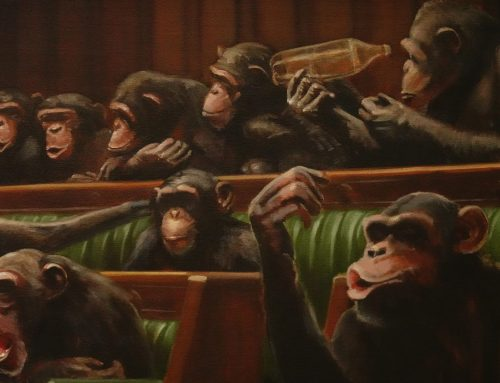 Banksy Art 'Devolved Parliament' Sells For Over $12M