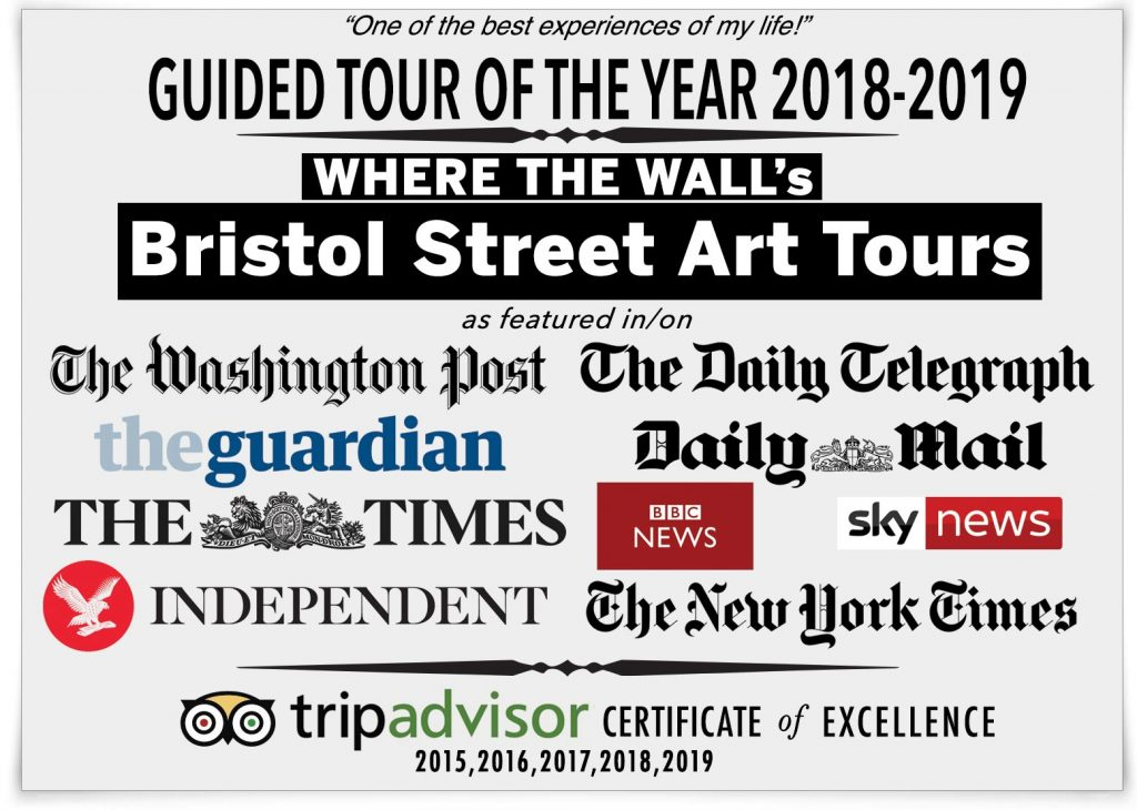 Bristol Street Arts Tours featured in many publications and on tv