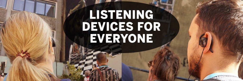 Bristol Street Art Tour Listening Devices
